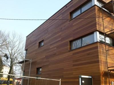 obicie drewniane domu